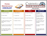 carswell construction seasonal checklist